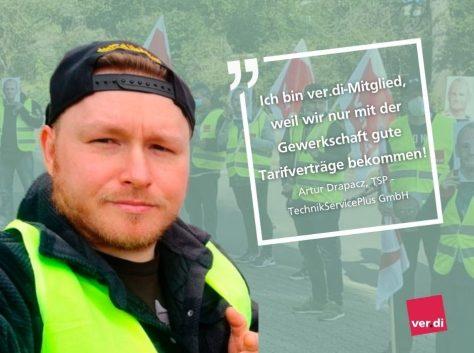Artur D., TSP TechnikServicePlus GmbH