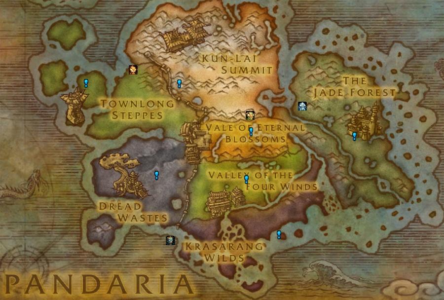 Wow Eastern Kingdoms Vanilla Map