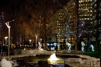3. Canary Wharf _ Winter Lights _ ©Michela_G for WowingEmoji
