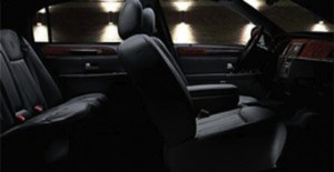 CT Town Car Sedan Interior