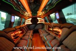 isnide Wow Limousine Escalade