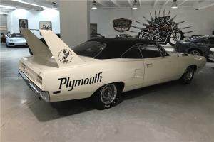 Plymouth Superbird White