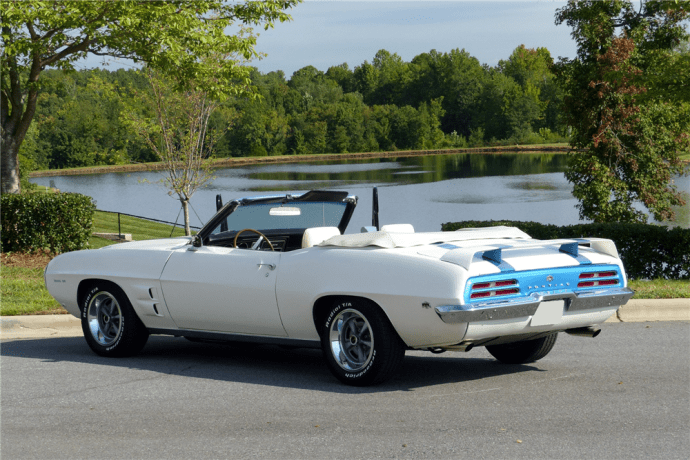 69 Firebird Convertible Trans Am Rear