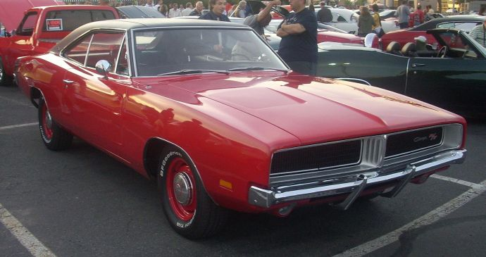 The 1969 Dodge Charger RT