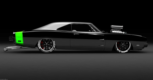 1969 Dodge Charger R/T Race Car