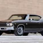 1969 Chevelle SS 396 Black