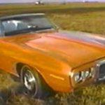 1969 Firebird TV Commercial
