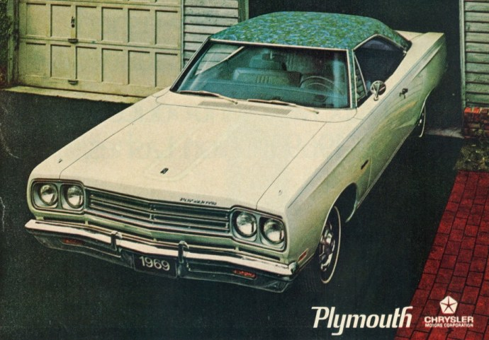 1969 Plymouth Satellite Advertisement