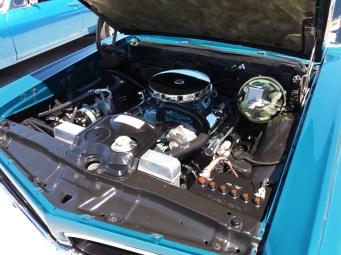 1967 Pontiac GTO Engine Bay