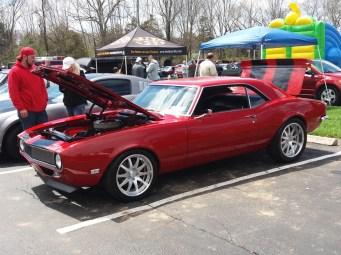 1968 Camaro Custom Red