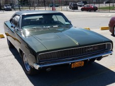 1968 Dodge Charger RT Green F
