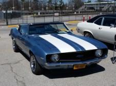 1969 Chevrolet Camaro Convertible Blue