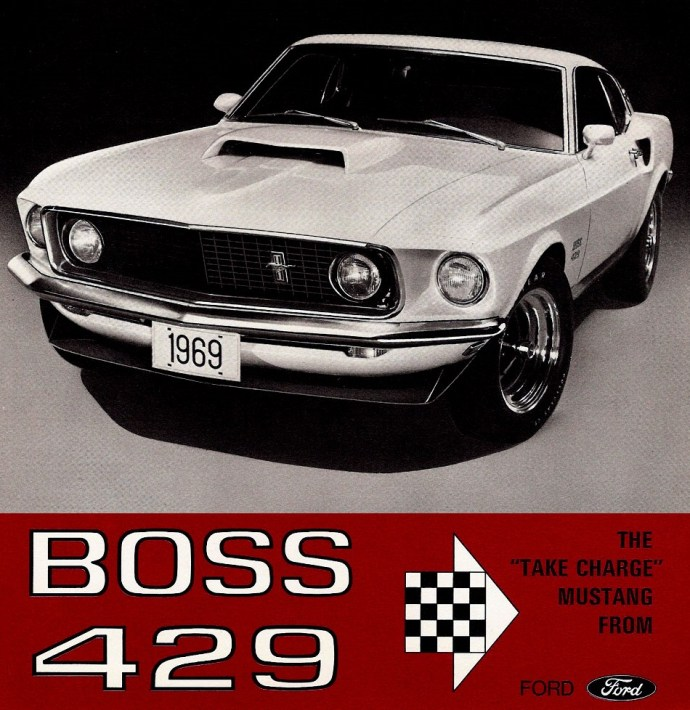 1969 Ford Mustang Boss 429 Fastback Ad