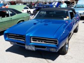 1969 Pontiac GTO Convertible Blue F