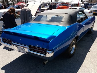 1969 Pontiac GTO Convertible Blue R