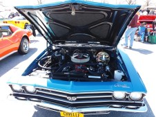 1969 Chevelle SS Blue F