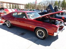 1970 Chevelle Red Front
