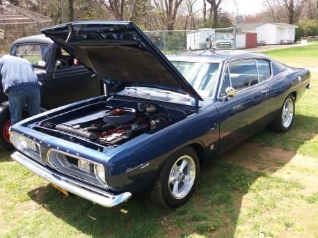 Plymouth Barracuda Engine Side