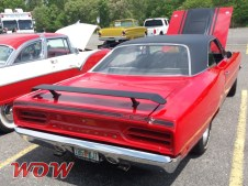 1970 Plymouth Road Runner Red - Rear