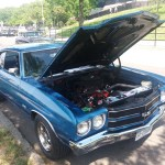 Front 1970 Chevy Chevelle SS