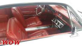 1965 Ford Mustang Fastback Interior Red
