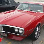 Red 1968 Pontiac Firebird Front
