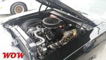 1969 Chevrolet Nova SS 396 Engine Bay