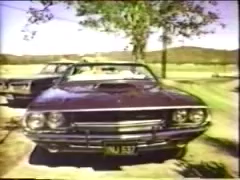 1970 Dodge Challenger R/T Convertible Front