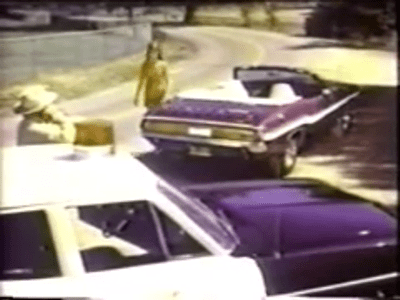 1970 Dodge Challenger R/T Convertible - TV Commercial