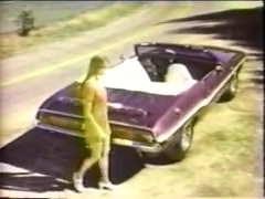 Challenger R/T Convertible TV Commercial - Girl