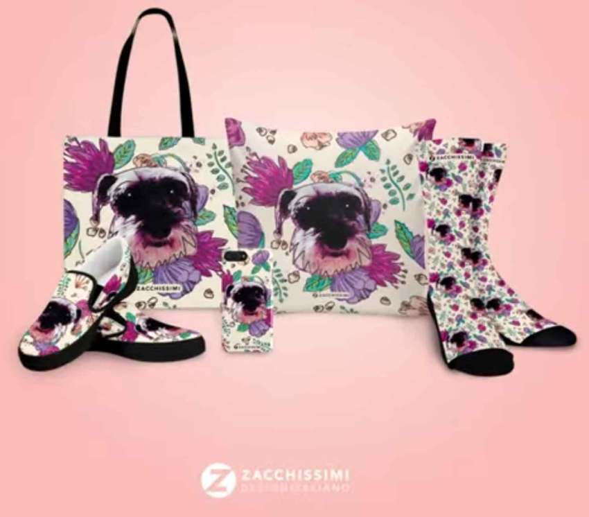 pet and pink florals products