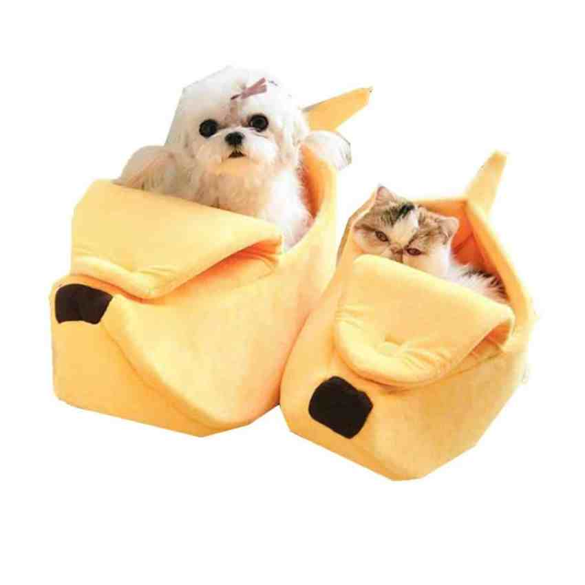 Banana beds for cats and dogs