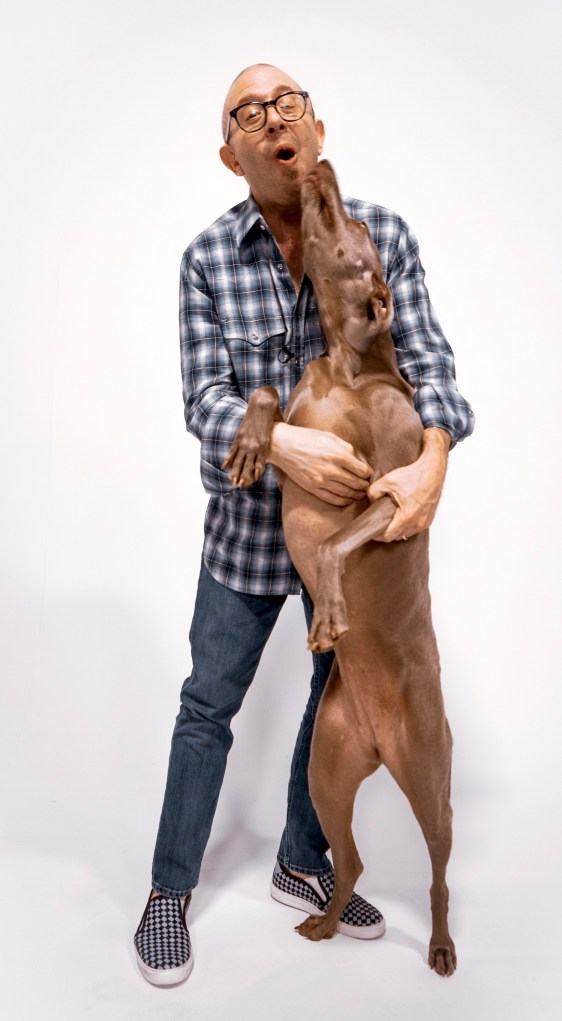 Eric Turk with his dog