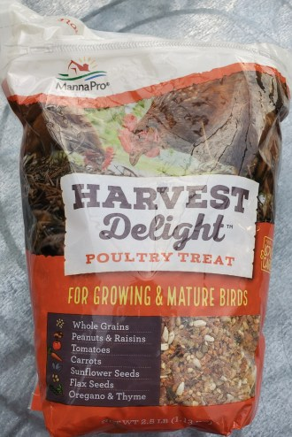Harvest Delight poultry treat package
