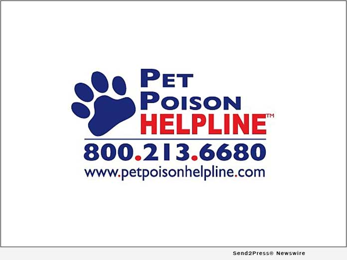 Pet Poison Helpline logo and phone number