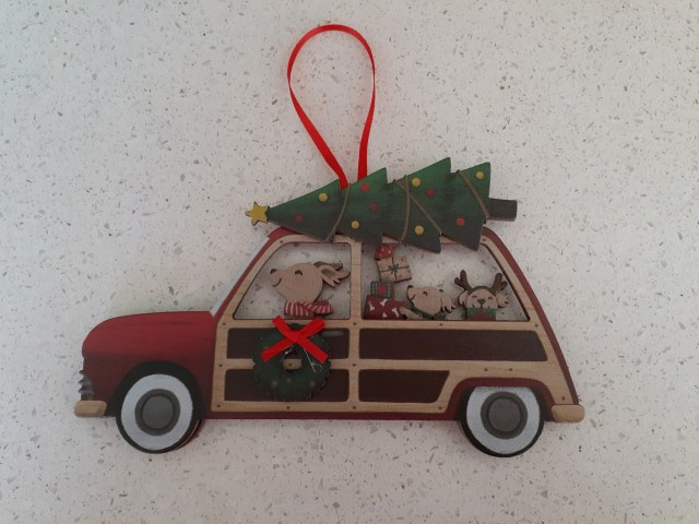 A Christmas Miracle Rescue Ornament