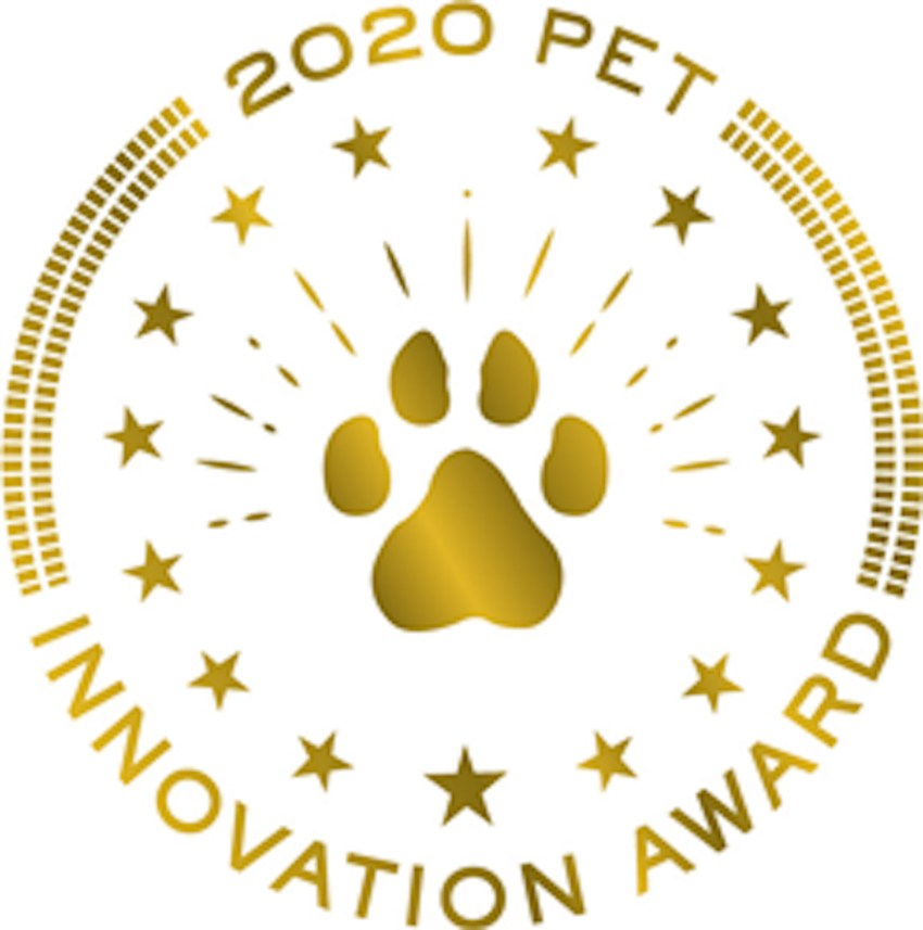 2020 Pet Innovation Award logo