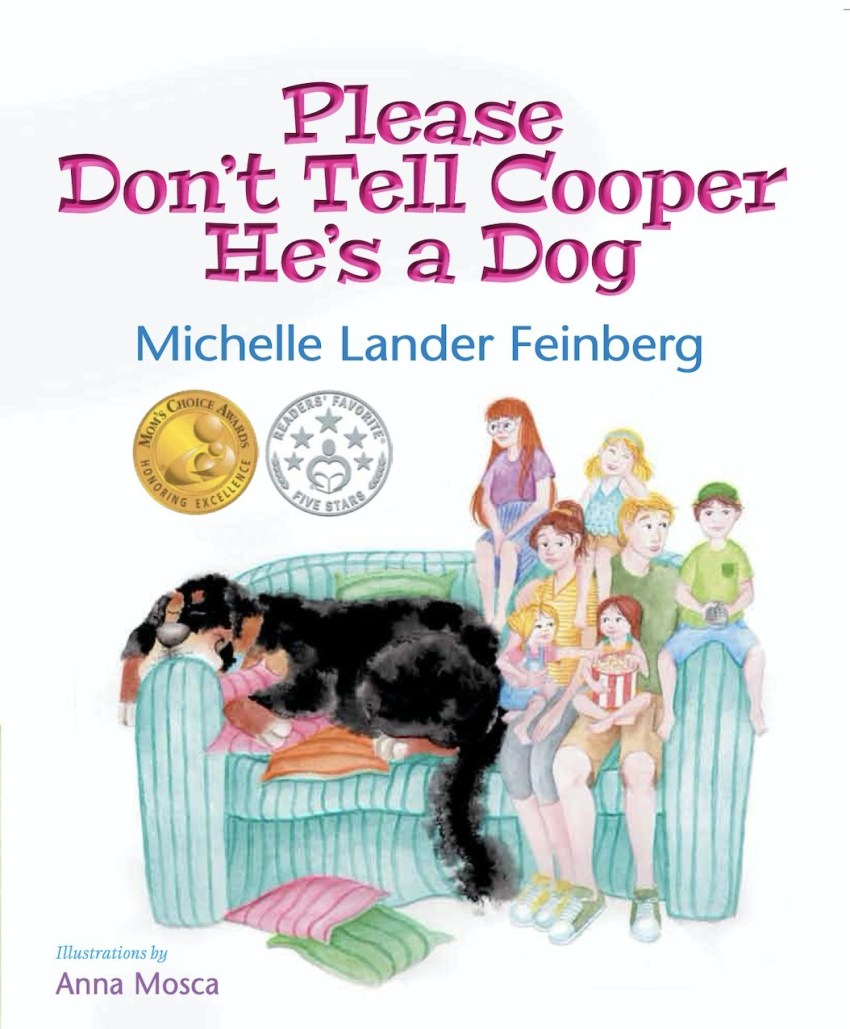 "cover of ""Please Don't Tell Cooper He's a Dog."""