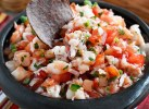 Shrimp Salsa | http://www.skinnytaste.com/2012/04/skinny-shrimp-salsa.html