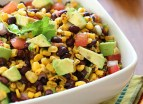 Black Bean Salad | http://www.skinnytaste.com/2009/06/southwestern-black-bean-salad.html