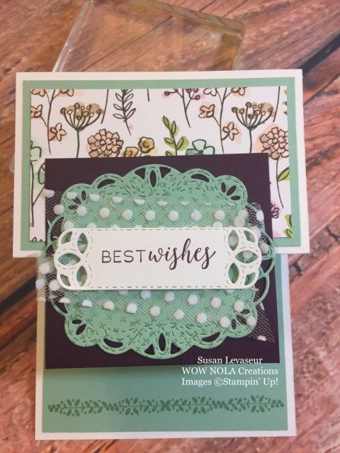 Susan Levasseur, WOW NOLA Creations, WOW Class to GO!, Stitched All Around
