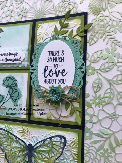 Susan Levasseur, WOW NOLA Creations, Delightfully Detailed Sampler, Stampin' Up!