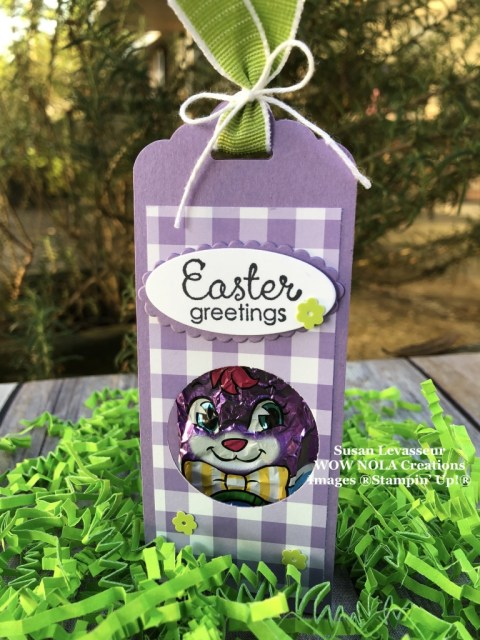 Susan Levasseur, WOW NOLA Creations, Easter Treats, March 2019, Stampin' Up!