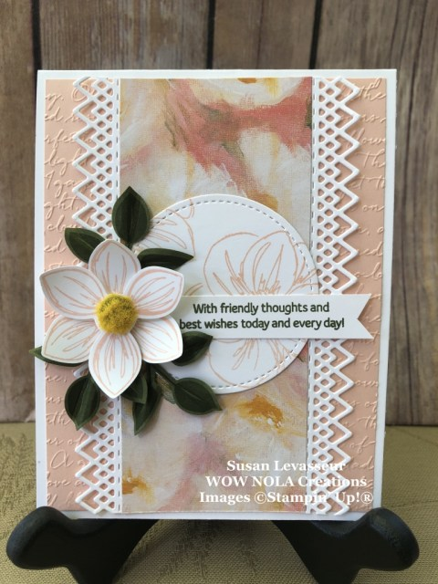 Floral Essence, WOW Class to GO!, July 2019