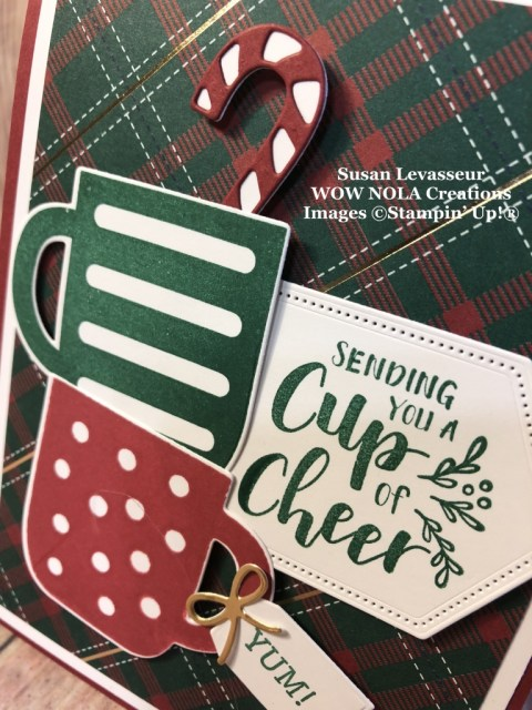 Pop-up Gift Card Holder, Susan Levasseur, WOW NOLA Creations, Stampin' UP!