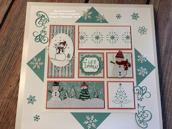 Winter Sampler Featuring Let it Snow