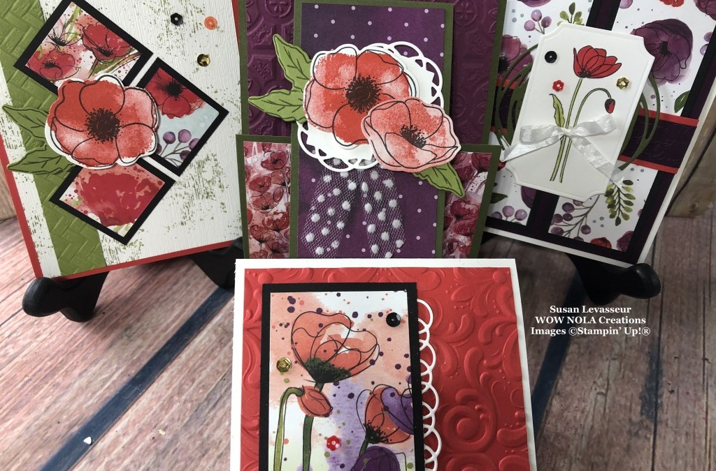 February WOW Class to GO! Painted Poppies