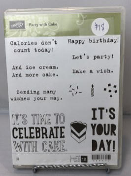 Stamp Set: Party with Cake