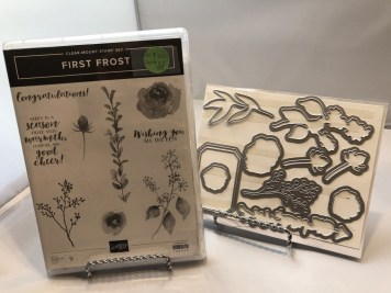 Die Bundle: First Frost Stamp Set and Die Set
