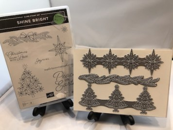 Die Bundle: Shine Bright Stamp Set and Stitched Brightly Die Set